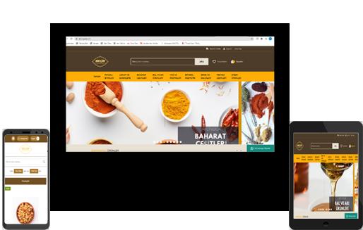 E ticaret Web sitesi