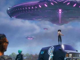 Fortnite Ufo Yerleri