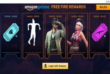 Free Fire Amazon Prime Ödülleri Nasıl Alınır