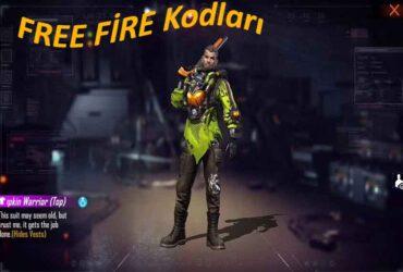 Free Fire Eylül 2021 Kodları