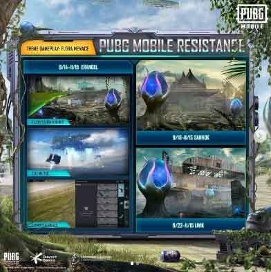 1) PUBG Mobile Yeni oyun modu Resistance