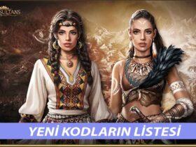 Game of Sultans Kodları Ekim 2021