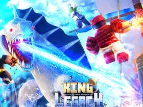 King Legacy kodları Ekim 2021